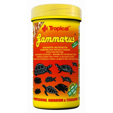 Comida Tortugas Gammarus Tropical 250 Ml - 30Gr