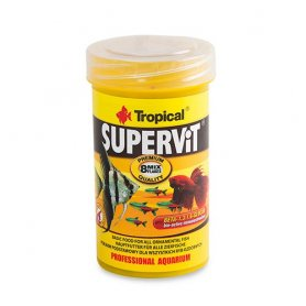 Comida Para Peces Tropical Supervit Basic 100Ml
