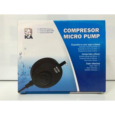 Compresor Mini Micro Pump Negro
