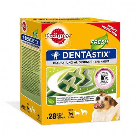 Snacks Dentastix Fresh Pedigree Razas Mini Multipack 28 Pc- 110Gr