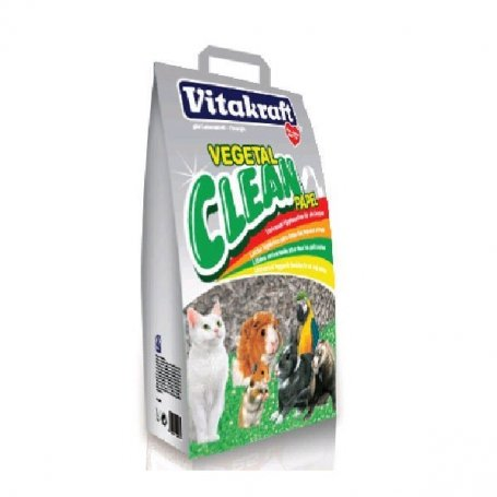 Lecho De Papel Reciclado Clean Vitakraft 25Lt