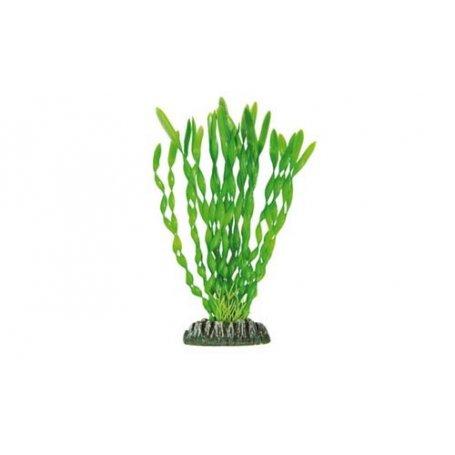 Planta Plastica Vallisneria Verde 21Cm - Decoracion Para Acuarios