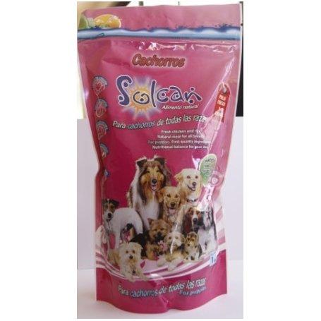 Solcan Cachorros 1 Kg - Comida Natural Para Cachorros