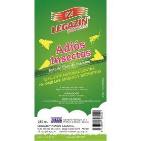 Insecticida Pajaros Legazin 250 Ml Adios Insectos 250Ml