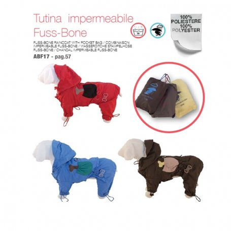 Impermeable Con Patas Fuss-Bone 70C