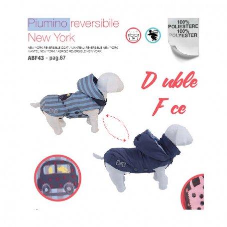 Plumon Reversible New York Cm.43 Rojo