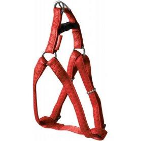 Arnes Mac Leather Rojo 10Mmx25/40Cm