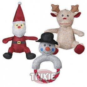 Juguete Para Perros Santa Clous Surtido Tela Navidad 28Cm
