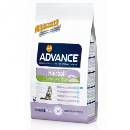 Advance Sterilised Adult Hairball 1,5Kg Trucha Y Pavo