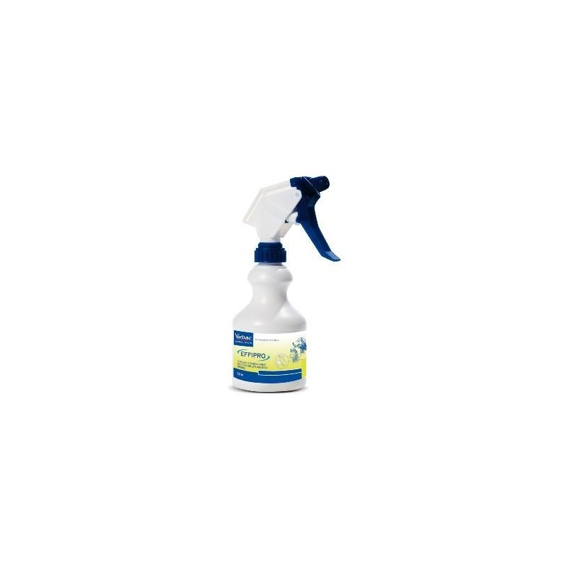 Antiparasitario Effipro Spray 250ml gatos pulgas y garrapa