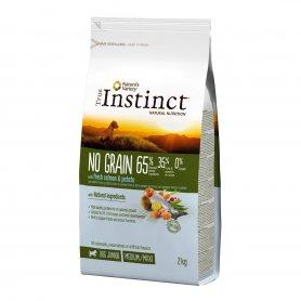 Pienso Perros True Instinct No Grain Medium Puppy Salmon 2Kg