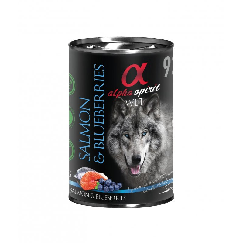 Alpha Spirit Natral Salmon Con Cerezas150Gr