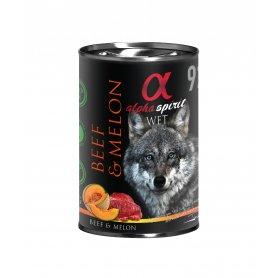 Alpha Spirit Natral Ternera Con Melon 400Gr