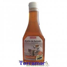 Aceite De Salmon Omega 3 Para Perros Y Gatos 425 Ml