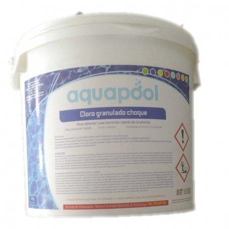 Cloro Granulado Choque Aquapool Cubo 5Kg