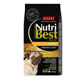 Pienso Nutribest Light 15Kg