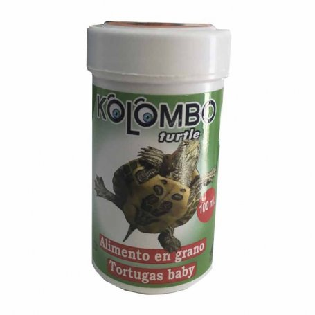 Comida Tortuguitas Baby En Grano Kolombo 100Ml