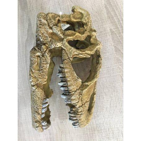 Craneo Dinosaurio Resina Decoracion De Acuarios