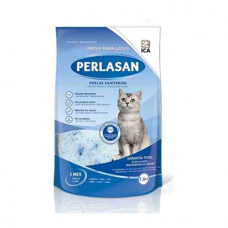 Arena para gatos de Silice Perlasan 7,5 KG