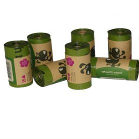 Bolsitas Higienicas Ecologicas Earth Rated Perfumadas 15Un
