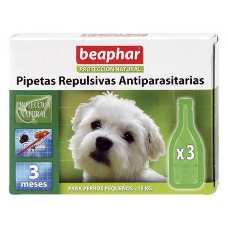 Pipetas Beaphar (3 pipetas) perros pequeños menos 15 Kg