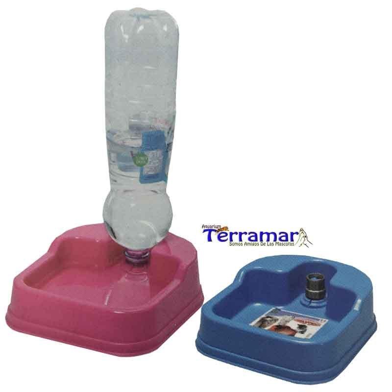 Bebedero Dispensador Base Para Botella Comercial