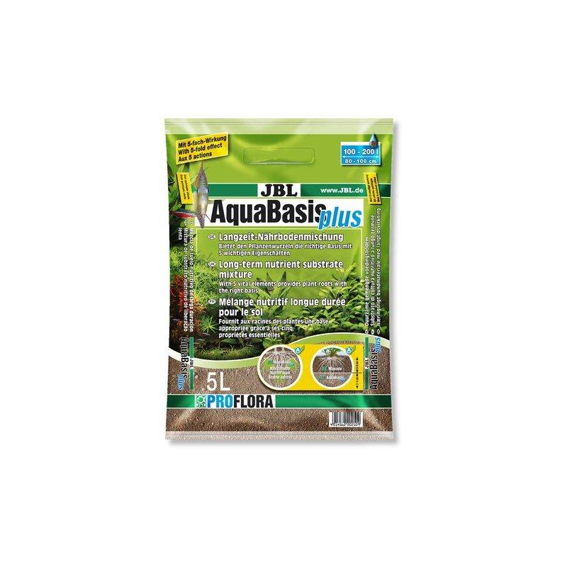Jbl Aquabasis Plus 5L- Sustrato Nutritivo Para Plantas Acuaticas