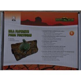 Isla Rampa Flotante Para Tortugas PequeñA
