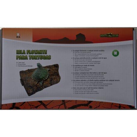 Isla Rampa Flotante Para Tortugas Acuaticas M