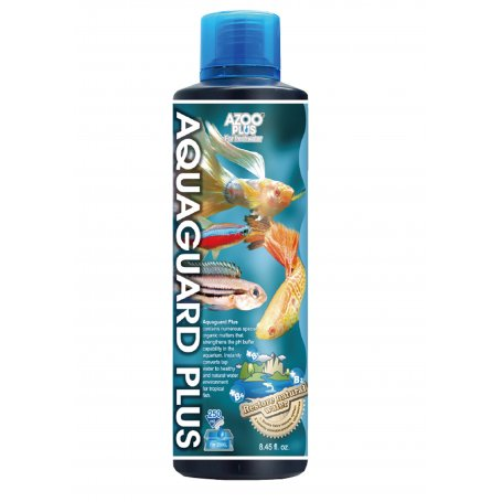Aquaguard Plus 250 Ml - Acondicionador De Agua Para Acuarios