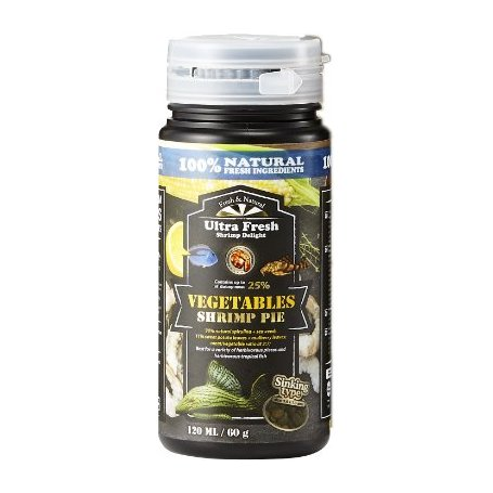 Comida Premium Vegetal Para Plecostomus 120 Ml / 60Gr Azoo