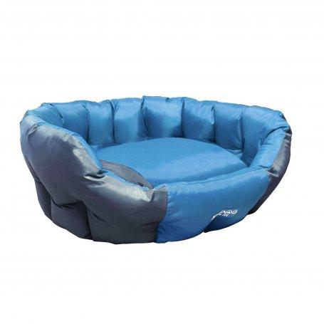 Cuna Xt-Dog Fantaso 53 X 47 X 21Cm Azul Y Gris