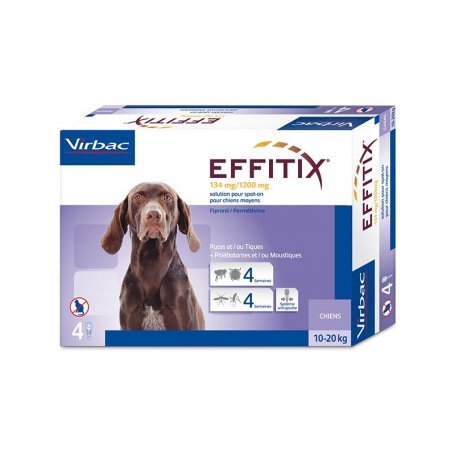 Pipeta Flevox (1 pipeta) Fipronil para perros 20-40 Kg