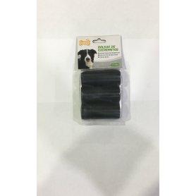 Bolsa Higienica Negra Set 3 Rollos X 15Un