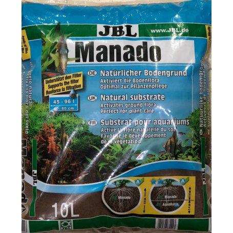 Jbl Manado 10 Litros - Sustrato Para Acuarios Plantados