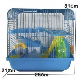 Jaula Para Hamster De Lujo 28 X 21 X31 Cm