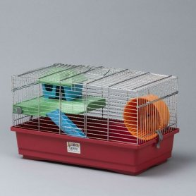 Jaula Para Hamster Cromo 50 X 28 X 29,5 Cm