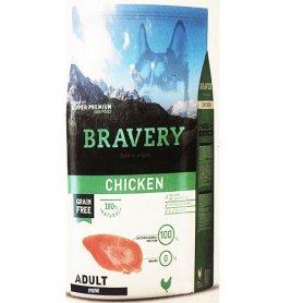 Pienso Bravery Grain Free Adult Mini 7Kg Con Pollo