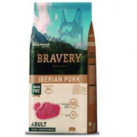 Pienso Bravery Grain Free Adult 4Kg Con Cerdo Iberico