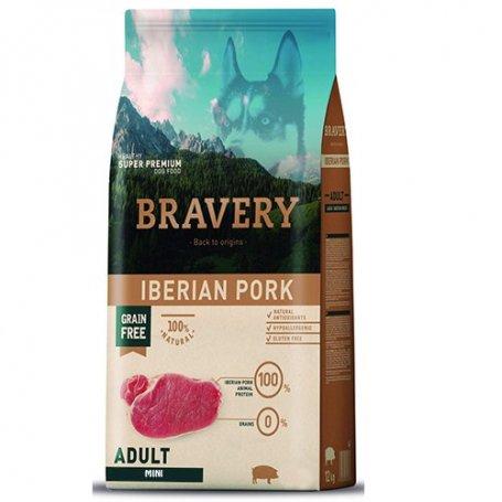Pienso Bravery Grain Free Mini Adult 2Kg Con Cerdo Iberico