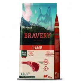 Pienso Bravery Grain Free Adult 12Kg Con Cordero
