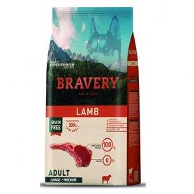 Pienso Bravery Grain Free Adult 4Kg Con Cordero