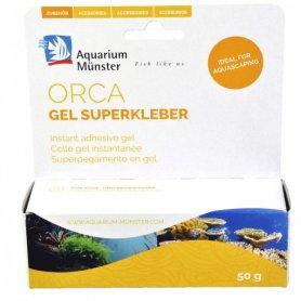 Orca Superglue Gel 50Gr Especial Para Fijar Corales Y Plantas