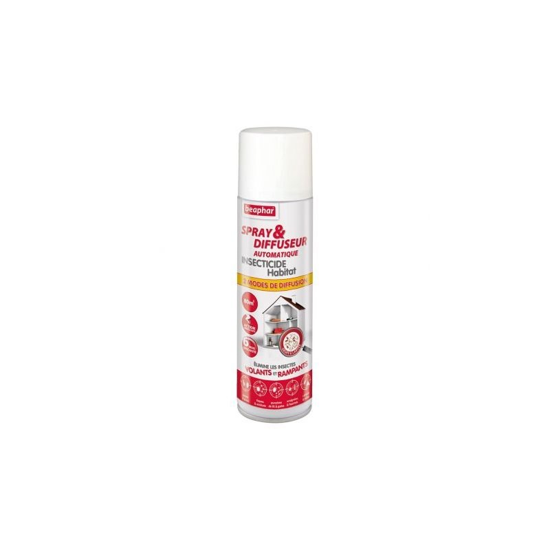 Insecticida Ambiental 200Ml Difusor Automatico Beaphar