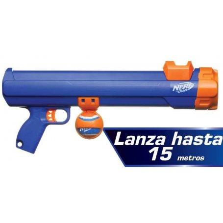 Juguete Nerf Blaster Pistola Lanza Pelotas De Tenis Con Pelota