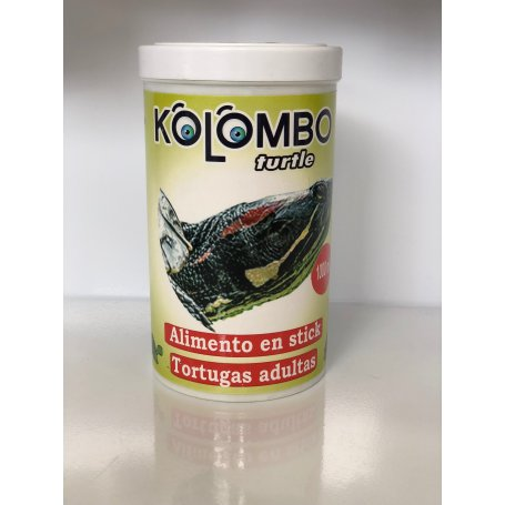 Comida Para Tortugas Adultas Sticks Kolombo 1000Ml