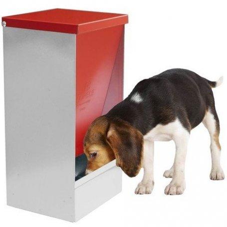 Comedero Perros Tolva Metalica Basculante Copele