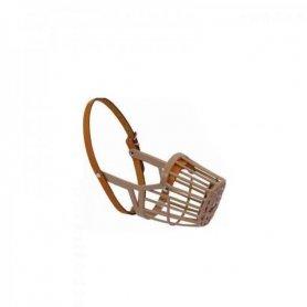 Bozal plástico cerrado T:S (17cm) cintas ajuste nylon