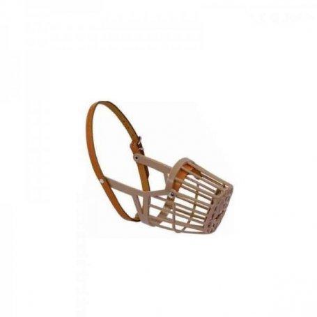 Bozal plástico cerrado T:M/ML (22cm) cintas ajuste nylon