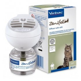 Zenifel Difusor Con Recambio 48Ml- Feromonas Calamantes Para Gatos